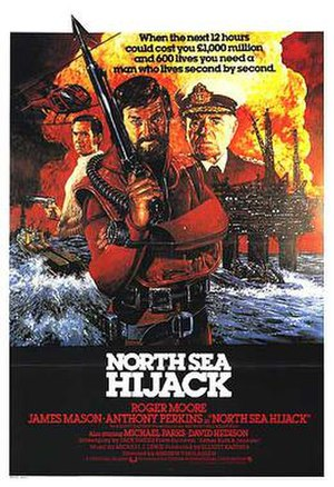 North Sea Hijack - Original UK film poster