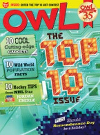 OWL (magazine) - Image: OWL Nov 11 cover
