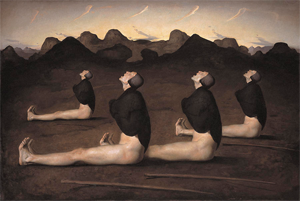 Dawn (painting) - Image: Odd Nerdrum Dawn