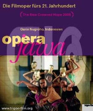 Opera Jawa - The Austrian theatrical poster.