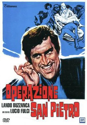 Operation St. Peter's - Original Italian theatrical poster