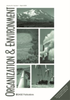 <i>Organization & Environment</i> peer-reviewed academic journal