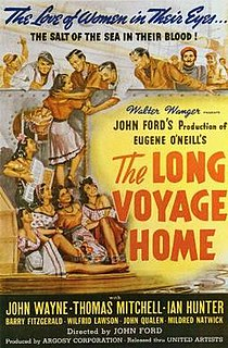 <i>The Long Voyage Home</i> 1940 film by John Ford