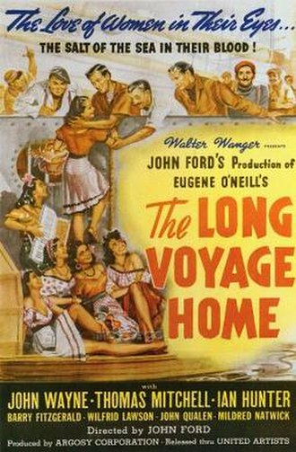 The Long Voyage Home - Theatrical release poster