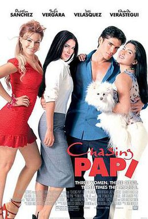 Chasing Papi - Theatrical release poster