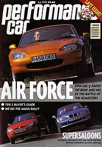 Performance Car; Air Force; Supersaloons