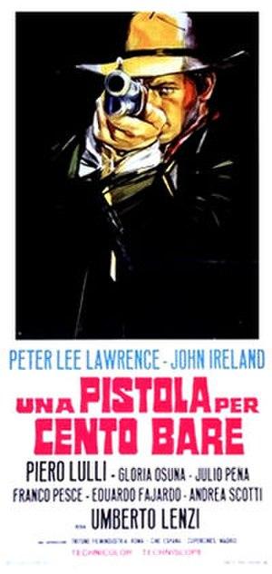 Pistol for a Hundred Coffins - Image: Pistola Per Cento Bare poster