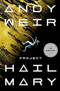 <i>Project Hail Mary</i> 2021 science-fiction novel by Andy Weir