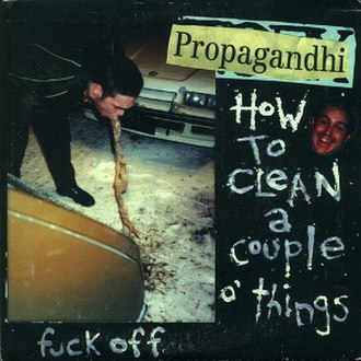 How to Clean a Couple o' Things - Image: Propagandhi How to Clean a Couple o' Things cover