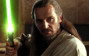 Qui-Gon Jinn - Liam Neeson as Qui-Gon Jinn in The Phantom Menace