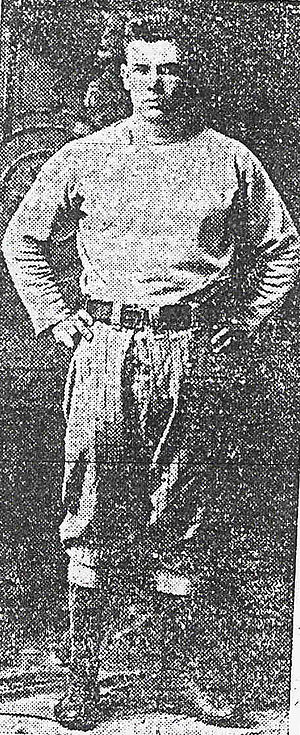 Youngstown Patricians - Patricians player-coach Ray L. Thomas (1915)