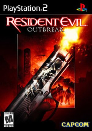 Resident Evil Outbreak - North American cover art