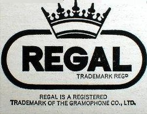 Regal Recordings - Former logo