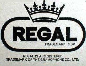 Regal Recordings - Former logo