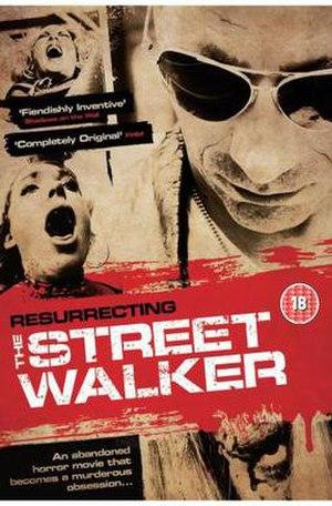 Resurrecting: The Street Walker - DVD Cover