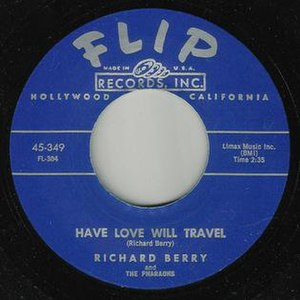 Have Love, Will Travel - Image: Richard Berry Flip 349 Label Scan