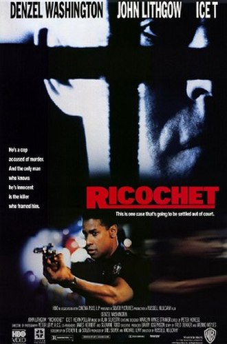 Ricochet (film) - Theatrical release poster