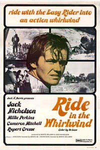 Ride in the Whirlwind - Film poster created by Jack H. Harris Inc.