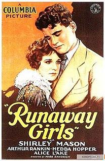 <i>Runaway Girls</i> 1928 film by Mark Sandrich