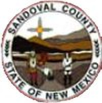 Sandoval County, New Mexico - Image: Sandoval County nm seal