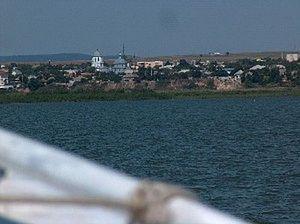 Jurilovca - Image: Satul Jurilovca vazut de pe L. Golovita 2