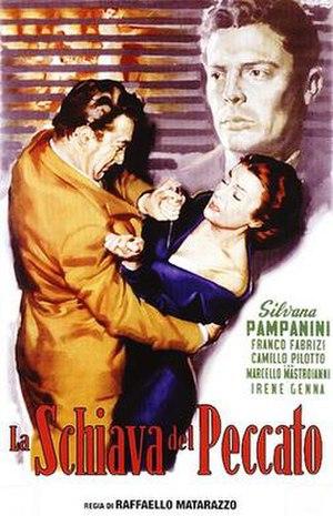 Schiava del peccato - Film poster