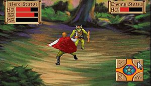 Quest for Glory: So You Want to Be a Hero - Combat in the 1992 remake