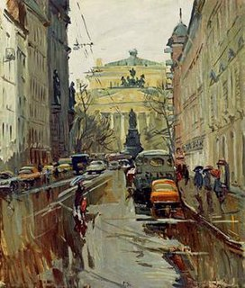painting by Alexander Semionov