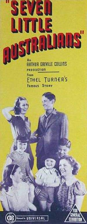 Seven Little Australians (1939 film) - Film poster