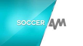 <i>Soccer AM</i> Saturday morning football-themed comedy/talk show, broadcast on Sky Sports