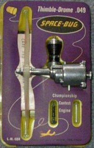 Cox model engine - Cox Thimble Drome Space Bug