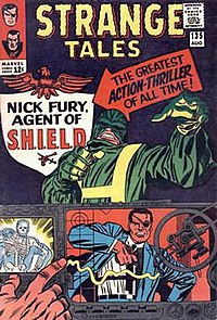 Strange Tales #135 (Aug. 1965). Cover art by Jack Kirby and Frank Giacoia.