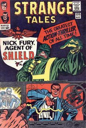 Nick Fury, Agent of S.H.I.E.L.D. (feature) - Image: Strange 135