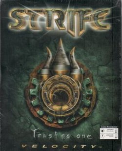 Original Strife box cover.