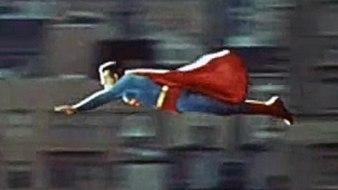 Superman flying Adventures of Superman 1956