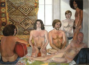 Smart Museum of Art - Sylvia Sleigh, The Turkish Bath, 1973