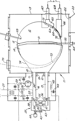 Synchrocyclotron - Image: Synchrocyclotron patent