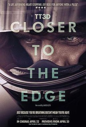 TT3D: Closer to the Edge - Theatrical release poster