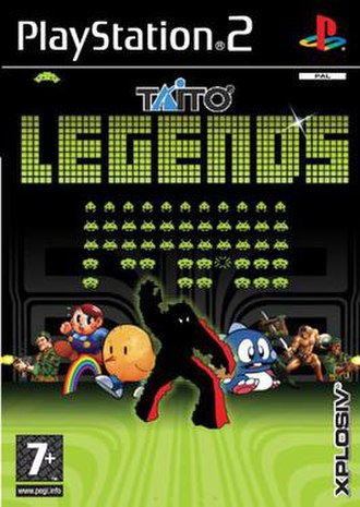 Taito Legends - Image: Taitolegends