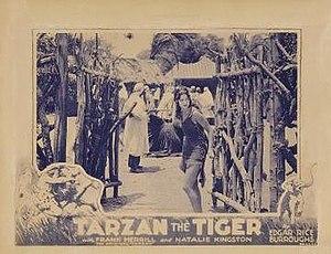 Tarzan the Tiger - Image: Tarzan the Tiger (movie poster)
