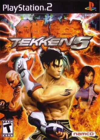 Tekken 5 - Image: Tekken 5Cover