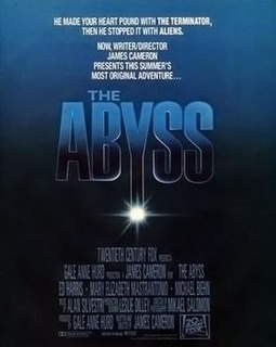 <i>The Abyss</i> 1989 American science fiction film directed by James Cameron