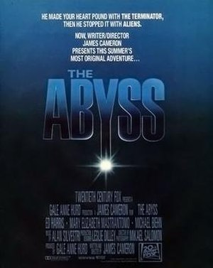 The Abyss - Theatrical release poster