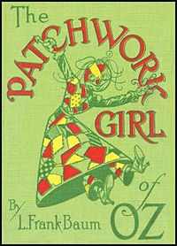 Cover of The Patchwork Girl of Oz.
