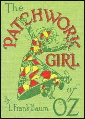 The Patchwork Girl of Oz - First edition cover
