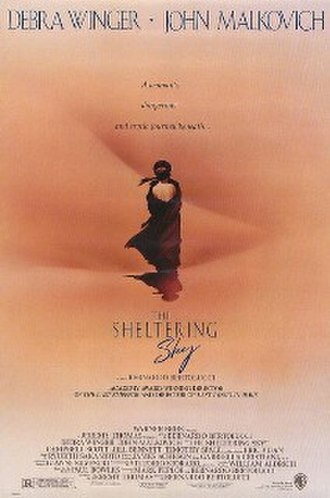 The Sheltering Sky (film) - Theatrical release poster by Renato Casaro