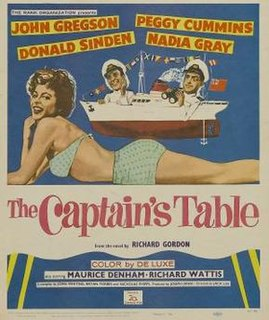 <i>The Captains Table</i> 1959 film