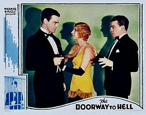 The Doorway to Hell - Theatrical release poster