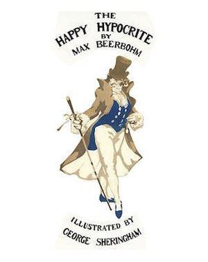 The Happy Hypocrite - cover of 2012 reissue by Michael Walmer of illustrated 1918 edition.