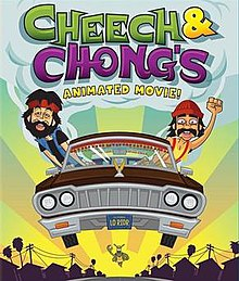 "The Image is the Cover Art for ""Cheech and Chong's Animated Movie.jpg"